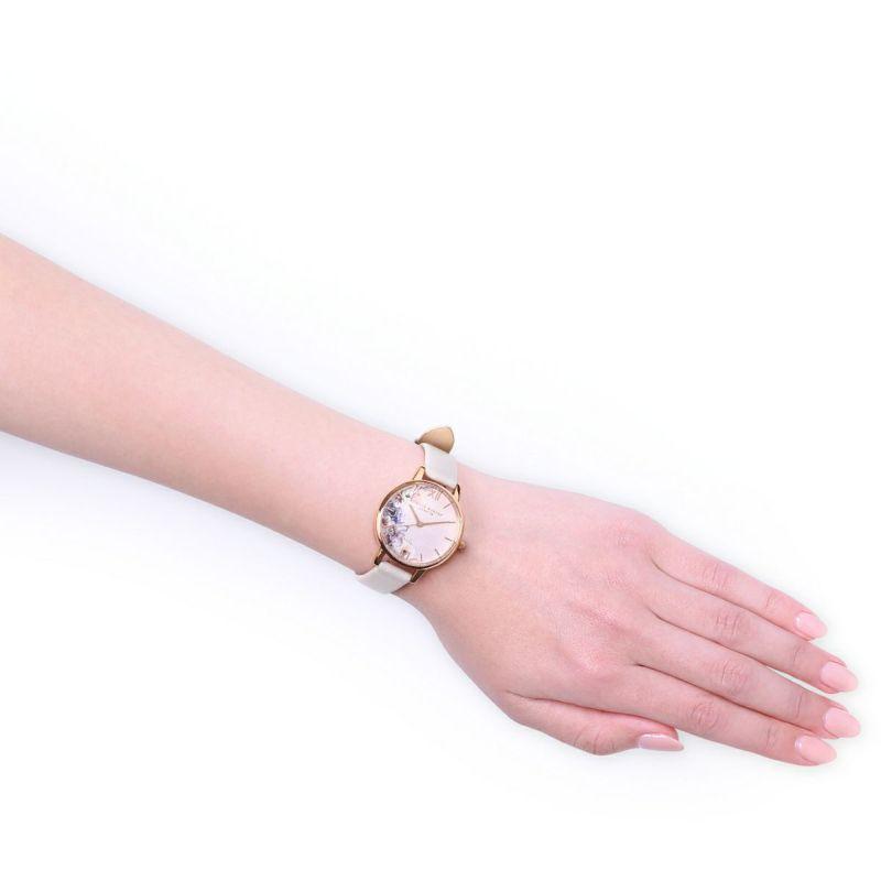 オリビアバートン OLIVIA BURTON ウォーターカラーフローラル ブラッシュ & ローズゴールド 腕時計