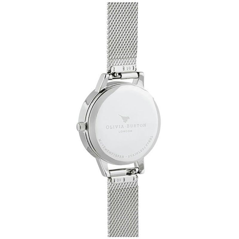 オリビアバートン OLIVIA BURTON ザウィッシングウォッチ シルバーサンレイ ローズゴールド & シルバーメッシュ 腕時計