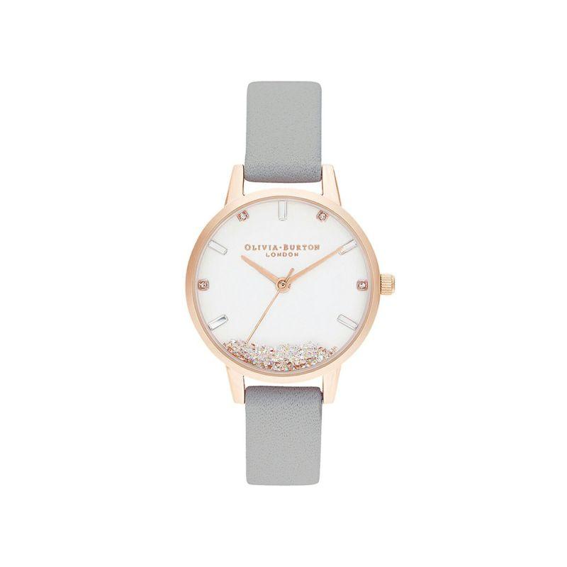 オリビアバートン OLIVIA BURTON ザウィッシングウォッチ グレー & ローズゴールド 腕時計