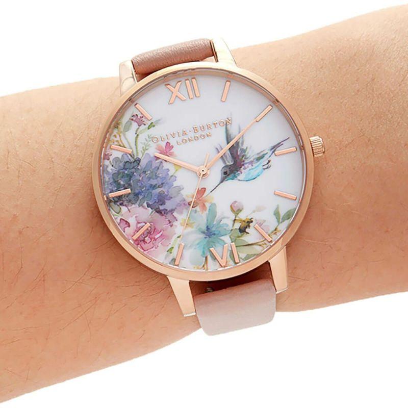 オリビアバートン OLIVIA BURTON ペインタリープリンツ ダスティピンク & ローズゴールド 腕時計