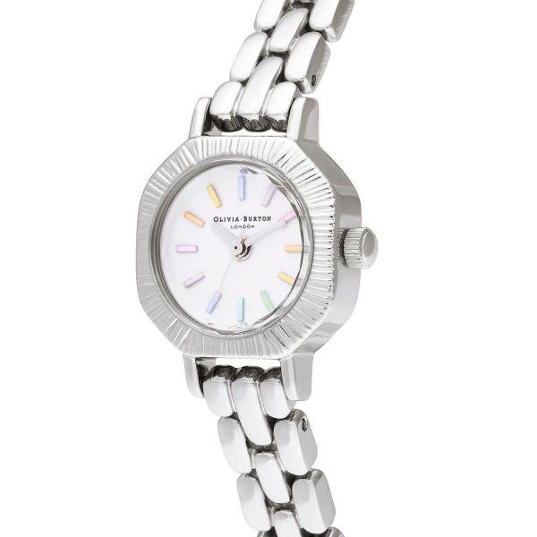 オリビアバートン OLIVIA BURTON レインボー シルバー ブレスレット ミニ ダイヤル 23mm 腕時計