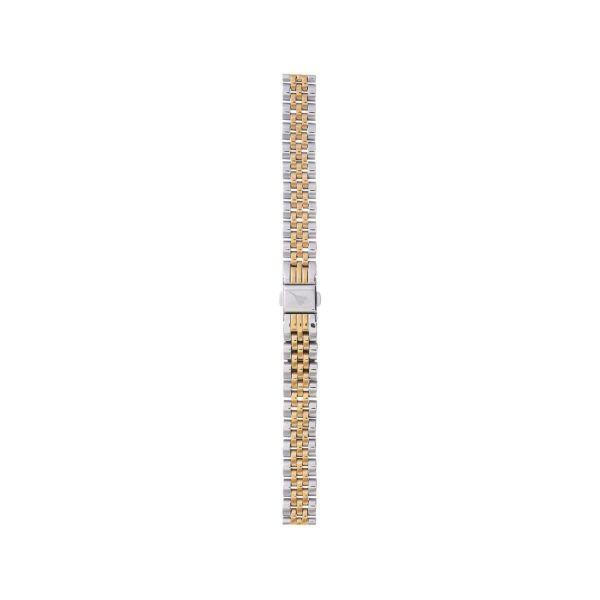 オリビアバートン OLIVIA BURTON 12mm 替えベルト ステンレス シルバー & ローズゴールド 腕時計用ベルト/12mm幅ベルト